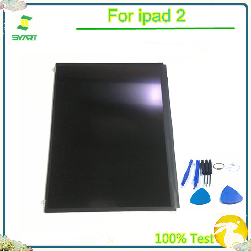 LCD Display Screen Single LCD Display Replacement Part With Tools For Ipad 2 For IPad2 2nd A1395 A1397 A1396(China)