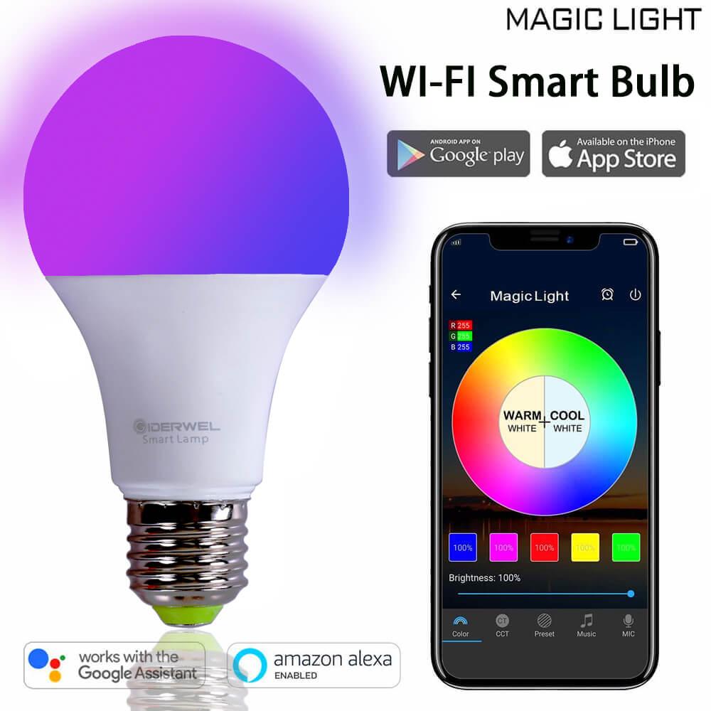 Aliexpress.com : Buy Home LED WIFI App RGBW bulbs 60W