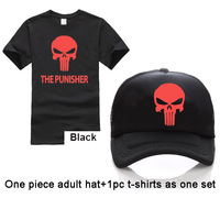 XS 3XL Size Adult Free Custom LOGO Army Green T Shirt The Punisher 3D Printed Men