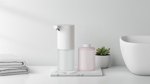 Image 2 - [With Liquid Battery] [Ship From ES/RU] Xiaomi Auto Foam Hand Washer Soap Dispenser 0.25s Infrared Auto Induction Foaming