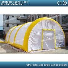 8mLx5mWx3mH игрушечные ворота туннельная палатка надувной навес для автомобиля ПВХ надувной автомобиль тентовый гараж крышка садовый тент для мероприятий
