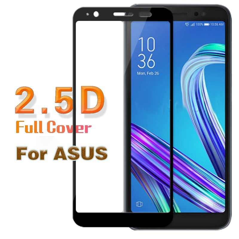 Vidrio templado para ASUS Zenfone Max Pro M1 M2 ZB602KL ZB555KL ZB631KL 5 5Z en L1 ZA550KL ZE620KL ZS620KL pantalla protector de la película