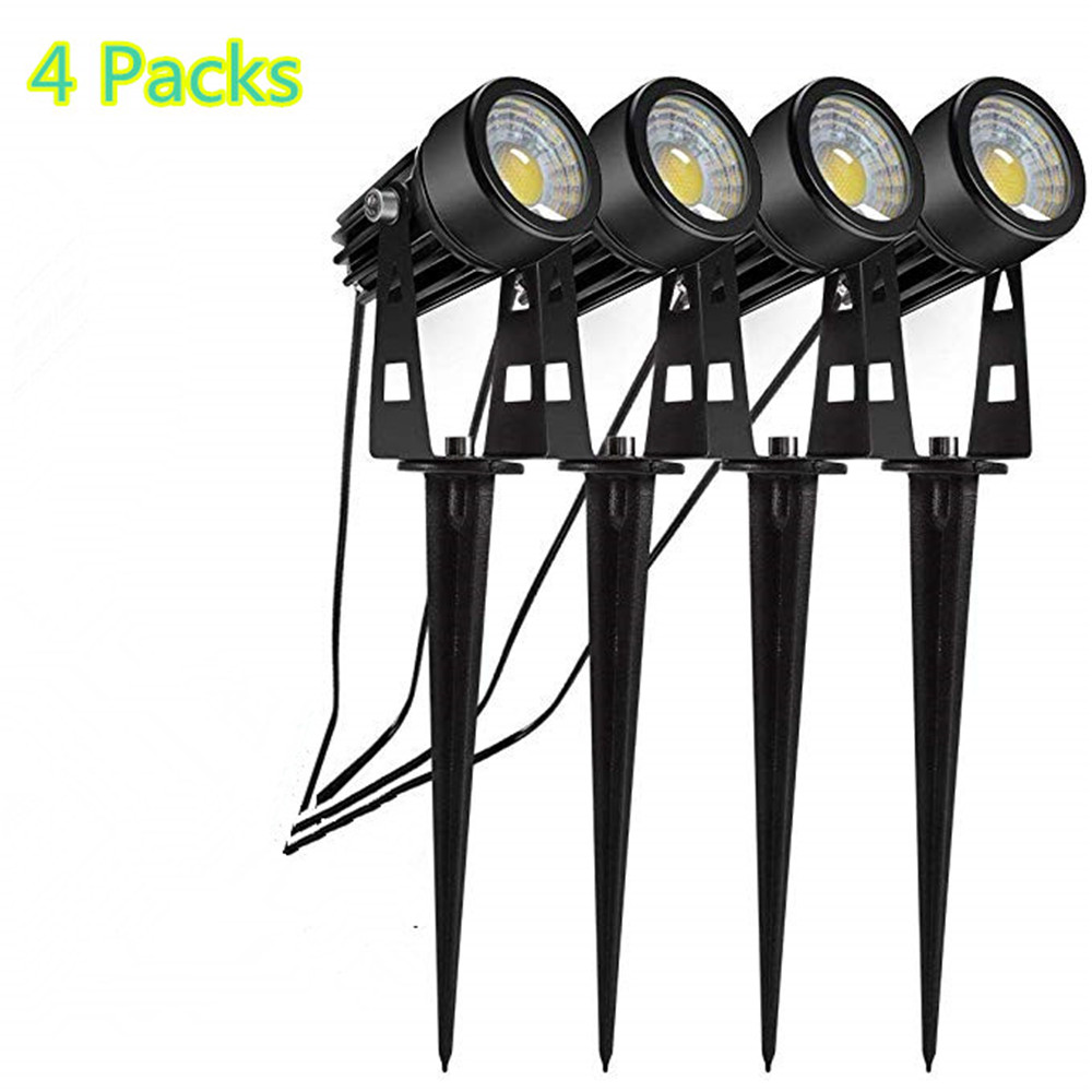Low Voltage 3W 12V LED Garden Light Outdoor COB Landscape Lighting Waterproof Tree Spot Light For Garden Flood Yard Lawn