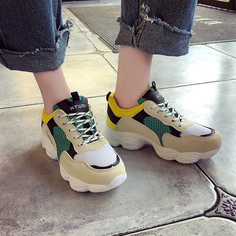 20  New itemizing sizzling gross sales Spring and Autumn web Breathable sneakers girls trainers DKS-186 HTB1Zblum4HI8KJjy1zbq6yxdpXaG