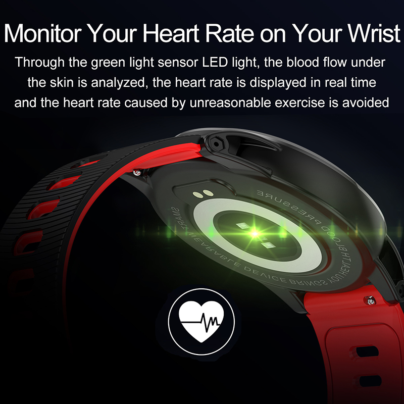 Bracelet intelligent moniteur de pression artérielle fréquence cardiaque montre intelligente Mp3 bracelet intelligent tracker de fitness pour huawei ios PK mi bande 4 - 2