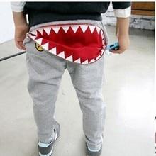 Новинки детские повседневные шаровары на молнии для мальчиков и девочек свободные штаны для малышей
