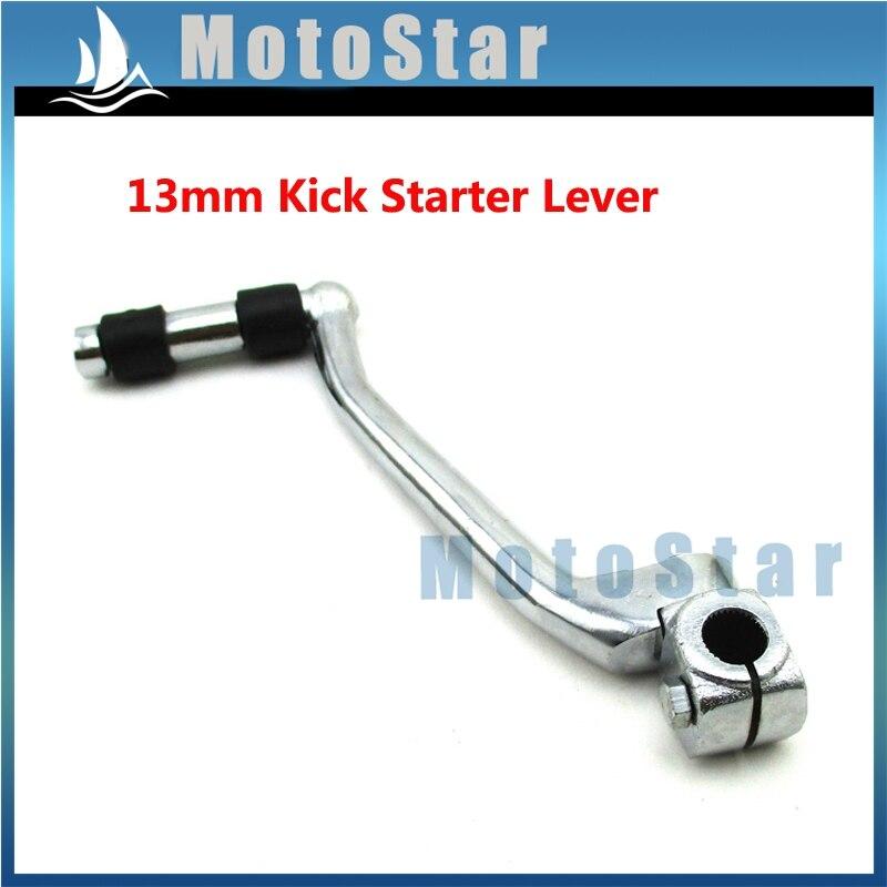 CNC Blue Kick Starter Lever 13mm For 50cc 110cc 125cc CRF50 XR50 Pit Dirt Bikes