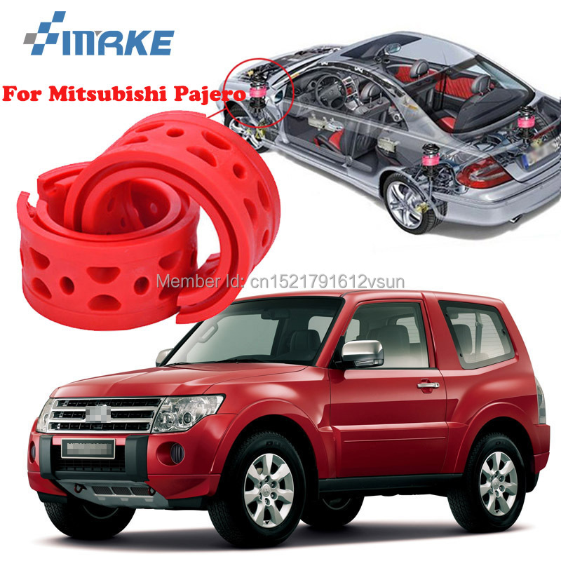 smRKE For Mitsubishi Pajero High-quality Front /Rear Car Auto Shock Absorber Spring Bumper Power Cushion Buffer