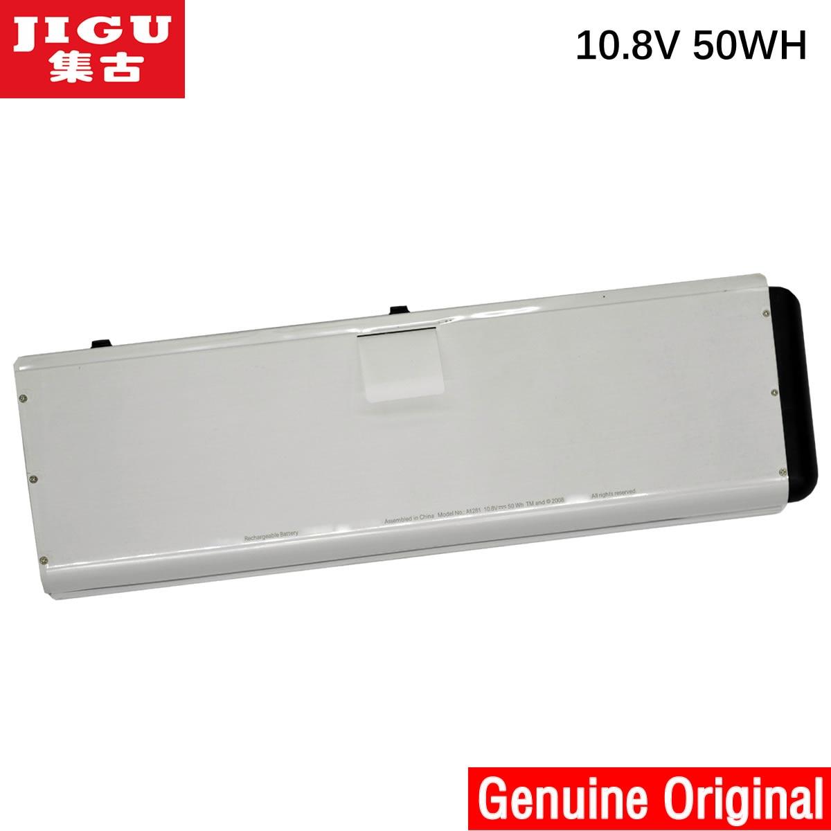 JIGU Original Laptop battery A1281 for Apple MacBook Pro 15 A1286 Aluminum Unibody Series(2008 Version) MB470*/A  10.8V 50WH