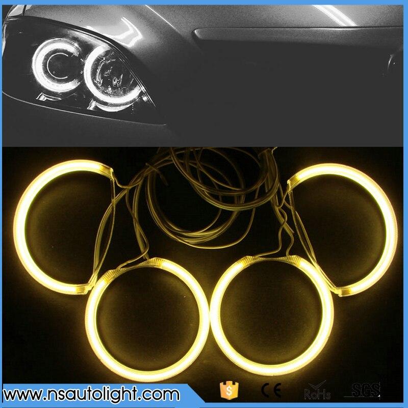 Best Selling CCFL Car Headlights Lamp Angel Eye Halo Rings kit fog light DRL  for Mazda 3  rings & inverters 12V 2004-2008 цены онлайн