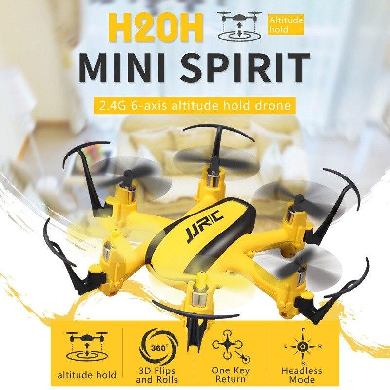 Nouvelle Arrivée JJRC H20H Pour Nano Hexacopter 2.4G 4CH 6 Axes Maintien D'altitude Sans Tête Mode RTF
