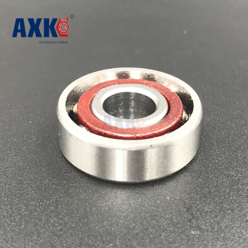 Axk 10pcs 8mm Spindle Angular Contact Ball Bearings 708c/p5 Super Precision Bearing Abec-5 708 708c 708ac 8x22x7 Mc Bearing 8mm spindle angular contact ball bearings 708c 2rs p4 super precision bearing abec 7 708 double sealed rubber seals rs rs1 2rs1