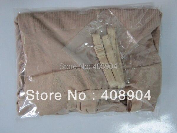 Бежевый и черный обтягивающий комбинезон формирователь всего тела с бретелями 100 шт(OPP пакет упакован