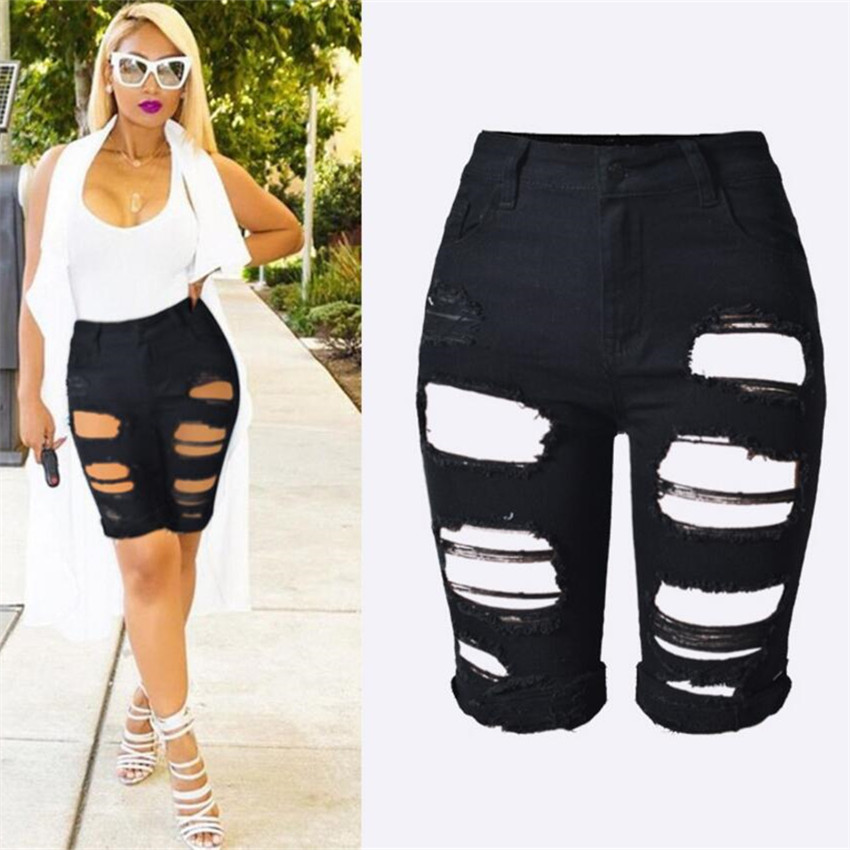 Online Get Cheap Ladies Knee Length Shorts -Aliexpress.com ...