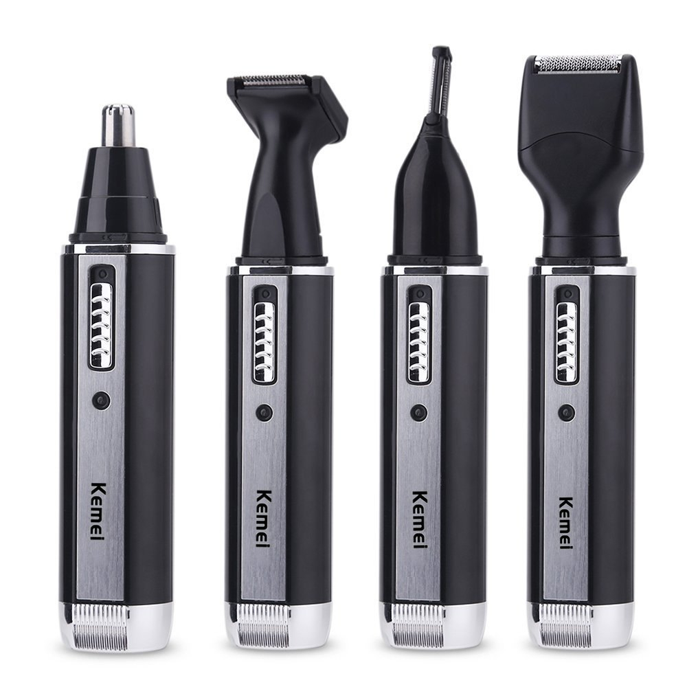 Hair-Trimmer Face-Hair-Removal Electric-Shaver Rechargeable Nose for Men Beard All-In-One