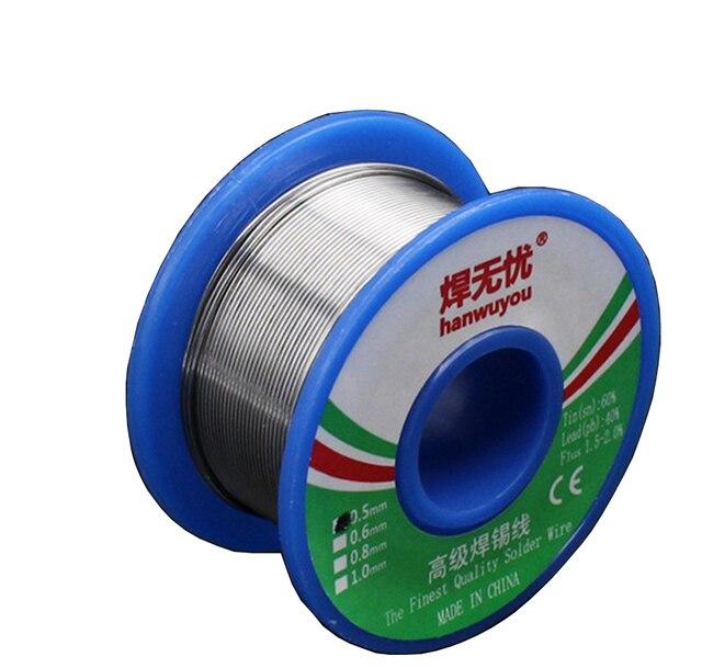 2017 New 60/40 Rosin Core Solder Wire FLUX 2.0% Rosin Core Welding ...