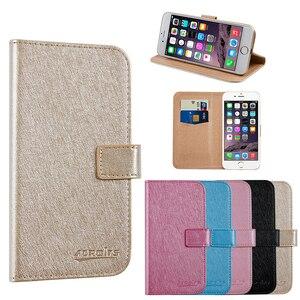 Для Hisense F23 деловой чехол для телефона кожаный чехол с подставкой защитный чехол с отделением для карт
