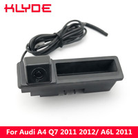 Waterproof Night Vision HD Auto Trunk Handle Car Rear View Reverse Parking Assistance Camera For Audi A4 Q7 2011 2012/ A6L 2011