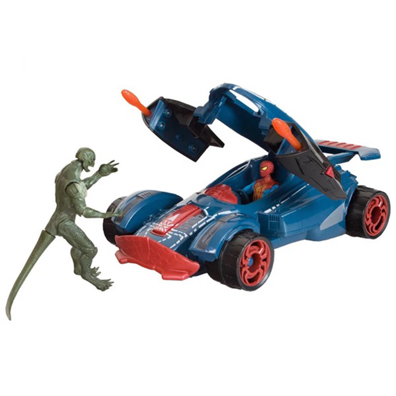 The Amazing Spider-man Spider Strike Vehicle Figures Spiderman PVC Action Figure Collectible Model Toy HRFG236 the flash man aciton figure toys flash man action figures collectible pvc model toy gift for children