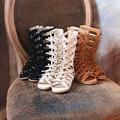 Top quality Camurça Sandálias Gladiador Meninas Genuínos Crianças Sapatos de couro Crianças sandálias Romanas Sapatos Da Praia do Verão Frete grátis