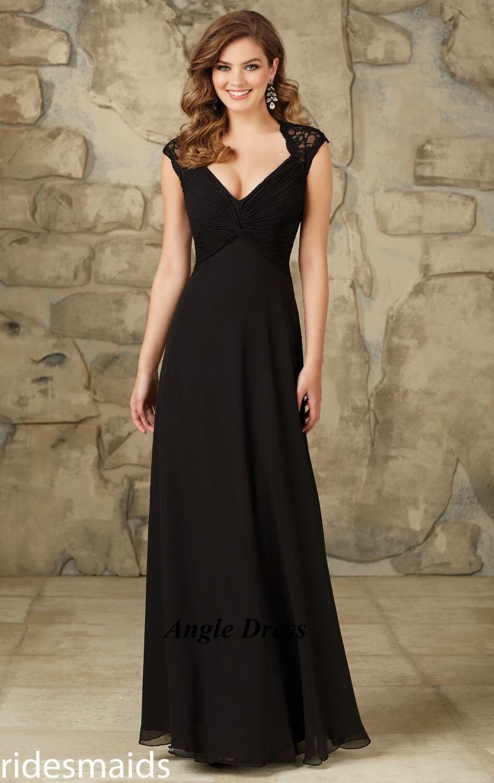 Vestido De Festa De Casamento Negro Vestidos De Dama De