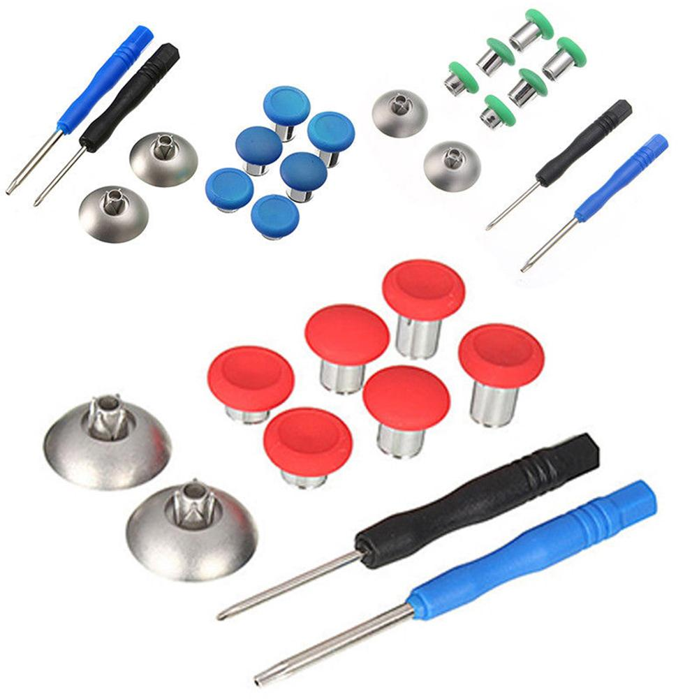 Hot Replacement Metal Controller Buttons Set Thumbsticks Mod Kit for Xbox One Elite Hot Replacement Metal Controller Buttons Set Thumbsticks Mod Kit for Xbox One Elite