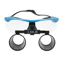 Nowy Styl 100% Wysokiej Jakości 3.5X Dental Chirurgiczne Medyczne Lup 320-420mm Szkło Optyczne Lupy