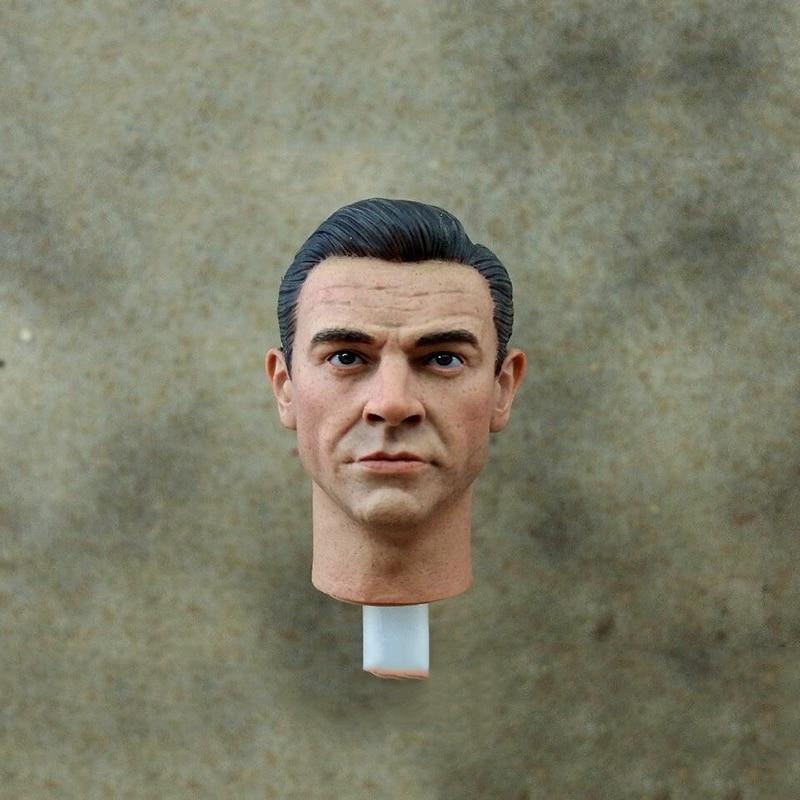 купить 1/6 Scale 007 James Bond Head Sculpt Carving For 12