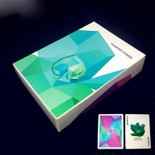 54pcs Diamond Playing Cards Collection Black Core Paper Poker Creative Gift Magic Standard Cards 88mm*63mm