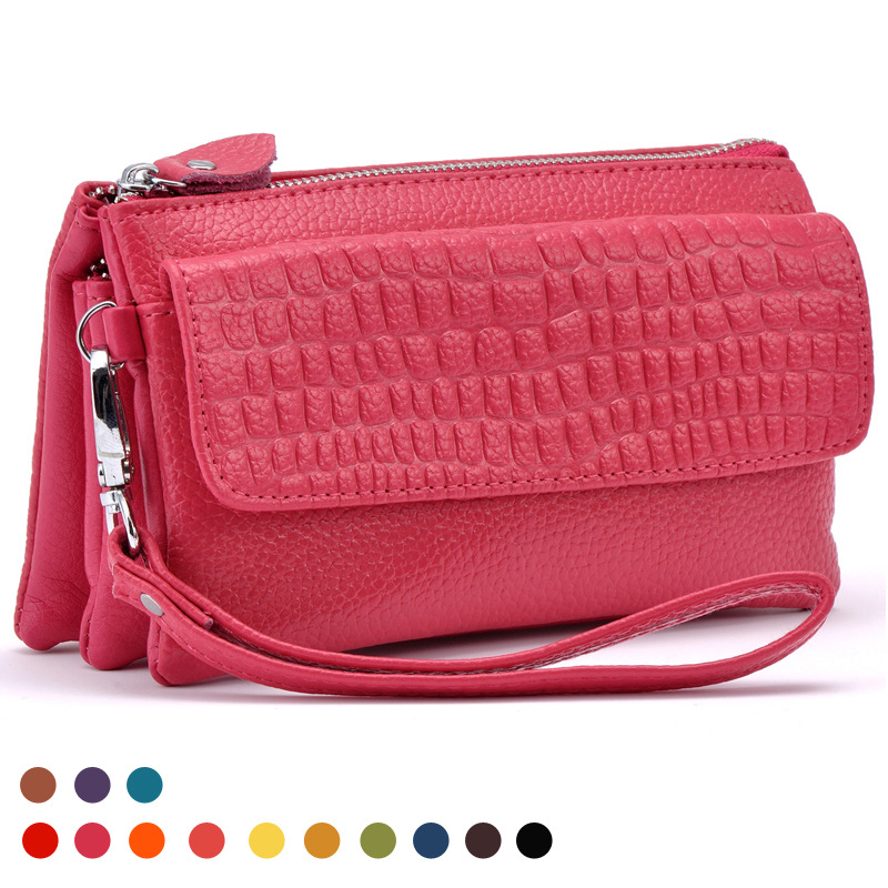 New Fashion Women S Wallet Credit Card Key Phone Holder Zipper Purse Las Leather Handbag In Wallets From Luggage Bags On Aliexpress Alibaba