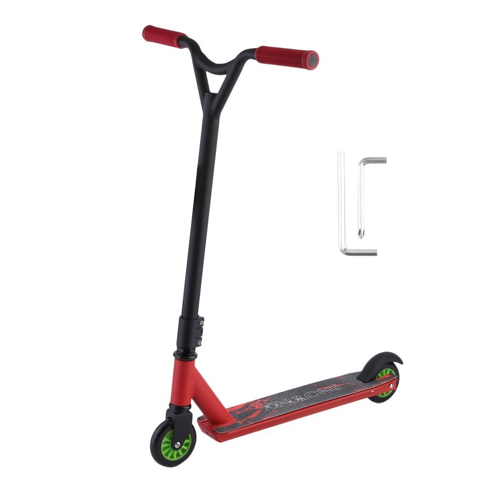 Adult children kick scooter Outdoor Extreme Stunt Scooter Roller Adult Children Kick Scooter Urban campus transportation цена 2017