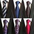 2017 Nova Chegada Dos Homens da Manta Gravata Cravata Marca Popular Gravatas de Poliéster Gravata Para O Casamento Da Moda Camisas de Negócios Laços Para partido