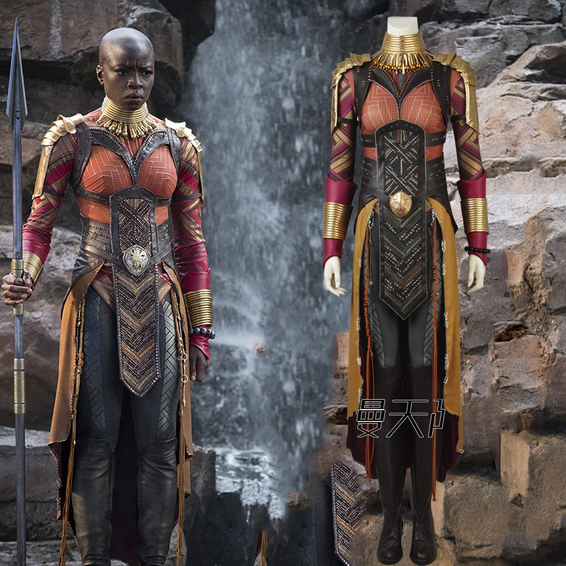 2018 Black Panther Okoye Cosplay Avengers Infinity War Okoye Costume Carnival Halloween Costumes Contact Us for Shoes Size