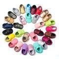 2017 Para Os Meninos Do Bebê Mocassins Exército Camuflagem Verde Handmade Do Bebê Da Menina do Menino Botas de Franja Tornozelo Sapatos Da Criança Primeiros Caminhantes