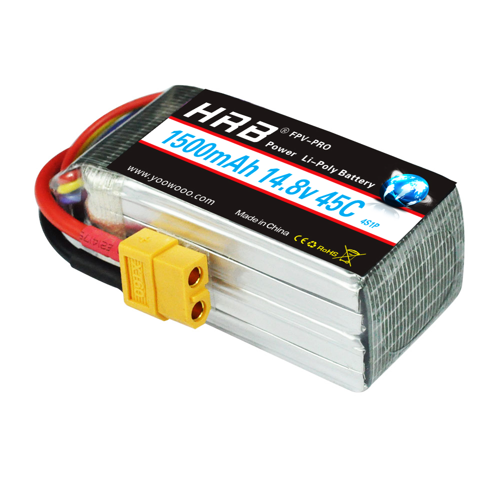 Image 5 - HRB Lipo Battery 2S 3S 4S 5S 6S 7.4V 11.1V 14.8V 18.5V 22.2V 1300mAh 1500mah 45C 65C 90C For Racing Drone FPV Quadcopter-in Parts & Accessories from Toys & Hobbies