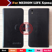 Hot!! In Stock MEDION LIFE X5004 Case 6 Colors Ultra-thin Dedicated Leather Exclusive For Phone Cover+Tracking