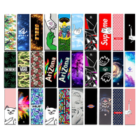 Free Shipping 1PC 83x24cm Skateboard Griptapes PVC Silicon Graphic Skateboard Grip Tape Mini Longboard Deck Grips
