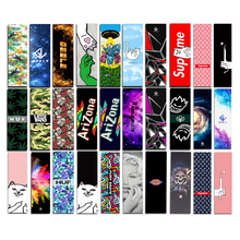 Gratis frakt 1PC 83x24cm Skateboard Griptapes PVC & Silicon Grafisk Skateboard Grip Tape Mini Longboard Deck Grips Sandpapir