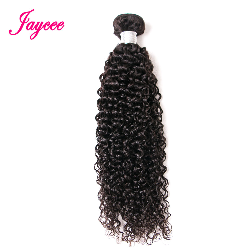 Jaycee Peruvian Curly Hair Natural Color 8-26 inches One Piece Only Remy Human Hair Weave Bundle Peruvian Hair Weave Bundles