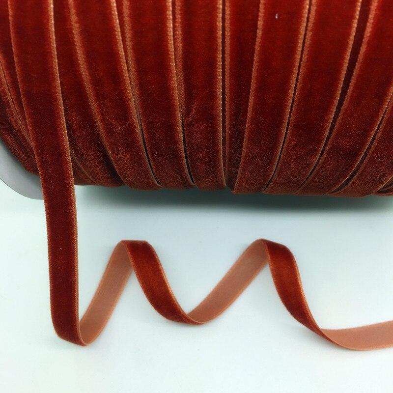 "HTB1Zbrug9YH8KJjSspdq6ARgVXa2 5 Yards 3/8""(10mm) Velvet Ribbon Wedding Party Decoration Handmade Ribbon Gift Wrapping Hair Bows DIY Christmas Ribbon"