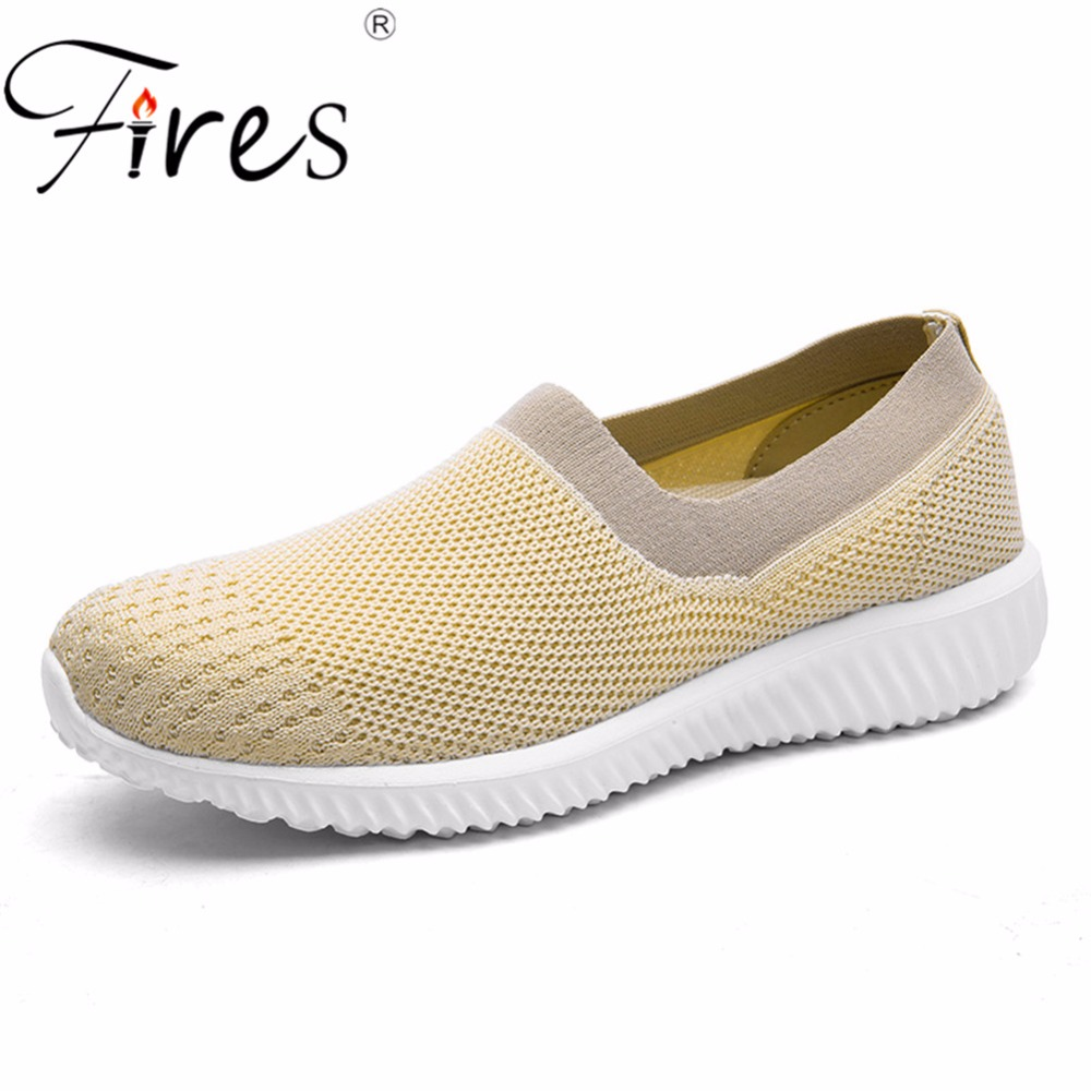 Fires Women's Running Shoes Female Sneakers Outdoor Soft Sport Shoes Woman Comfortable Walking Shoes Lightweight Zapatos Mujer