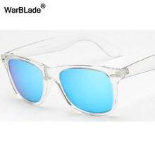 Warblade óculos de sol polarizado, óculos de sol retrô unissex, polarizado, visão noturna, transparente, retrô uv400