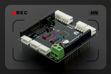 DFRobot Smart Digital Servo driver Shield for Arduino V1.0, Atmega8 12V 7 channels Compatible with Dynamixel AX/MX series servos