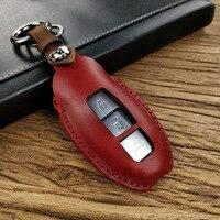Dedicated Car Key Wallet For Nissan Novelty Leather Key Bag Small Car Key Wallets Housekeeper Keys Organizer