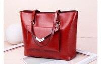 Women Handbag Genuine Leather Tote Bags Tassel Luxury Women Shoulder Bags Ladies Leather Handbags Women Fashion Bags 2018 C764