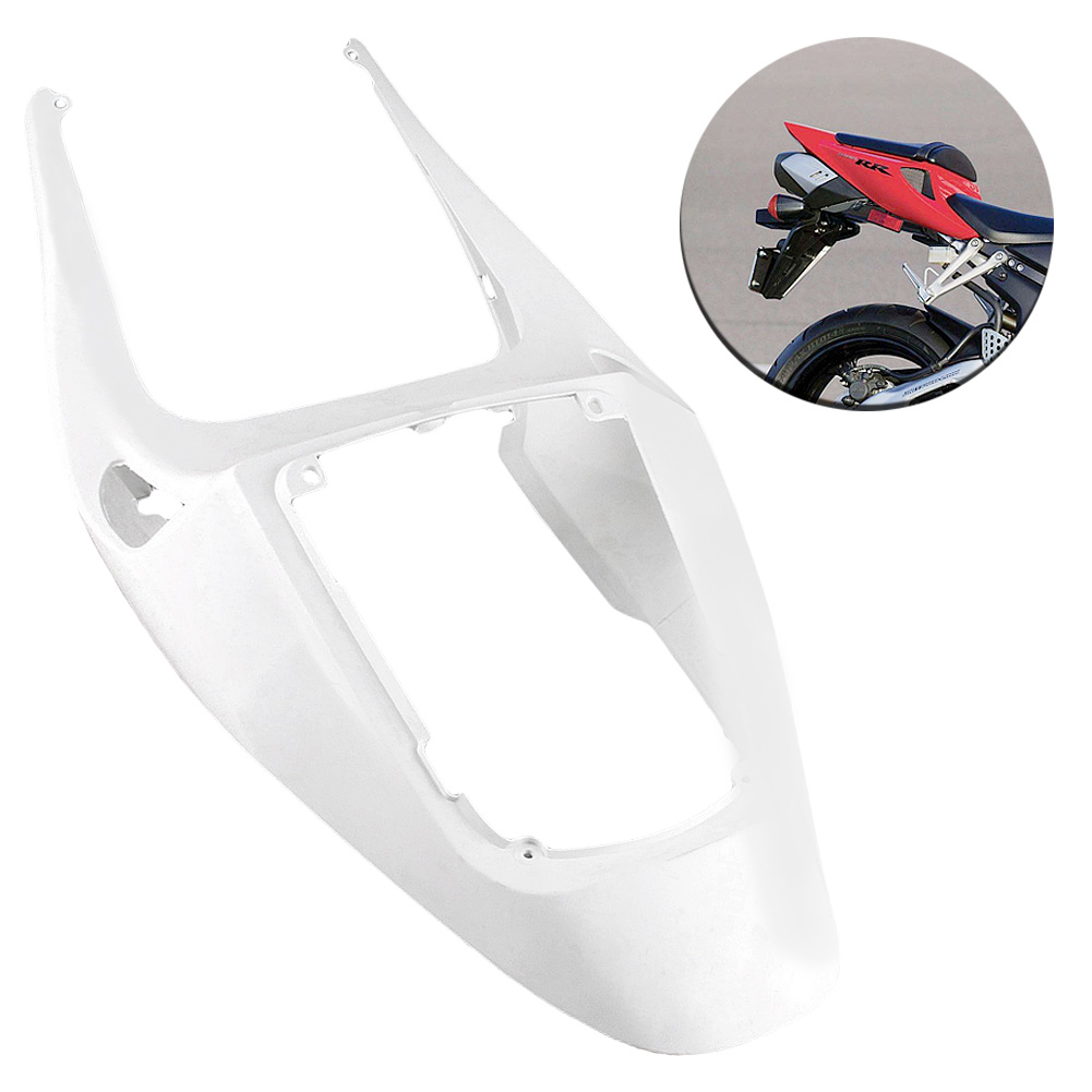 For HONDA CBR600RR CBR 600 RR F5 Tail Rear Fairing Cover Bodykits Bodywork 2005 2006 Injection Mold ABS Plastic Unpainted White 1pc hot sale 100%quality guaranteed doner kebab slicer two blades electrical kebab knife kebab shawarma gyros cutter