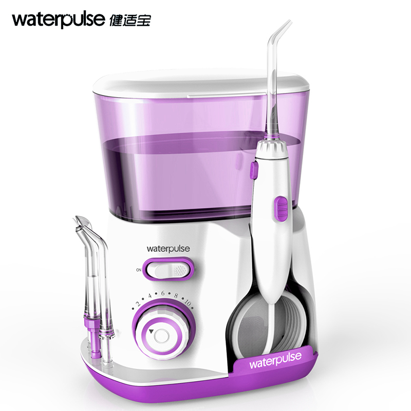 Waterpulse Dental Water Flosser Oral Irrigator Waterpick Dental Floss Water Irrigation Home Jet Dental Tooth Floss V300gv