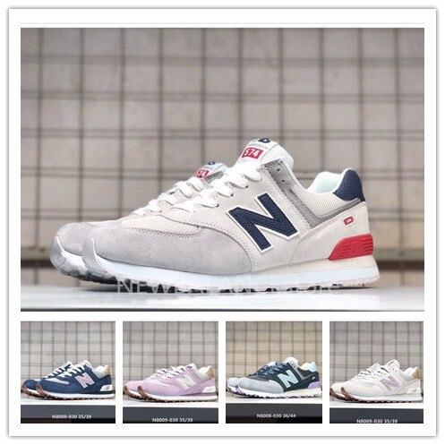 2cfe58b89454 2019 New Balance nb 574 Men Shoe Tricolor Women s Shoes Restore Ancient  Ways Leisure Time