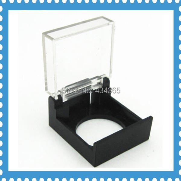 16mm Clear Switch Cover Plastic Push Button Switch Safety Protectived Cover Box rectangle type Emergency button dust cover