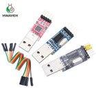 3pcs/lot =1PCS PL2303HX+1PCS CP2102+1PCS CH340G USB TO TTL for arduino Free shipping USB to UART TTL MODULE